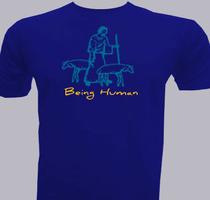 Jesus Being-Human T-Shirt