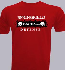 SPRINGFIELD D E F E N S E - T-Shirt