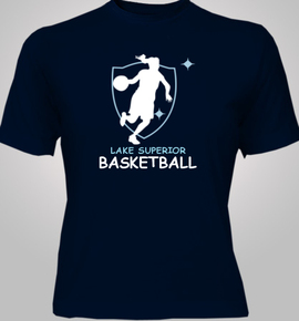 Ladies-and-Basketball - T-Shirt [F]