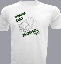 Basketball madison-state-bball T-Shirt