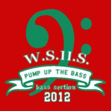 WSHS-Bass-Section- T-Shirt