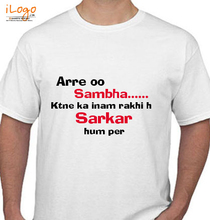 Filmy Style Sambha T-Shirt