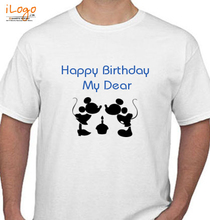 happy-birthday-my-dear T-Shirt