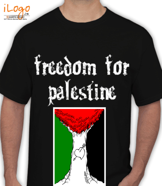 black freedom for palestine:front