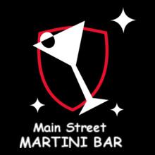Restaurant Main-St-Martini-Bar- T-Shirt