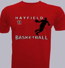 Basketball HAYFIELD T-Shirt