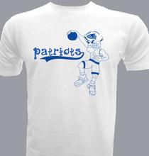 Basketball Patriots T-Shirt