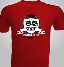 Drama WHS-Drama-Club- T-Shirt