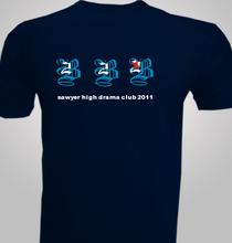 Drama sawyer-high-drama-club- T-Shirt