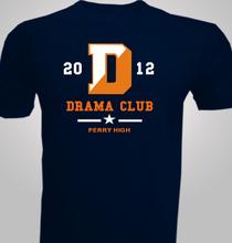 Drama Perry-High-Drama-Club- T-Shirt