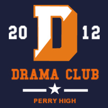 Drama Perry-High-Drama-Club- T-Shirt