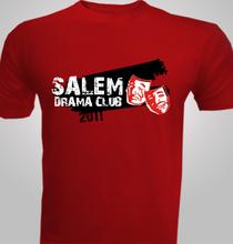Drama Salem-Drama-Club- T-Shirt