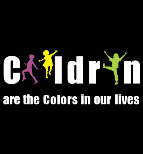 children - the colors of our life