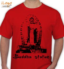 Budhha-Statue-Dehradun - T-Shirt