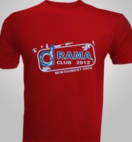 Montgomery Drama Club  - T-Shirt