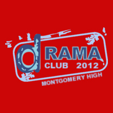 Drama Montgomery-Drama-Club- T-Shirt