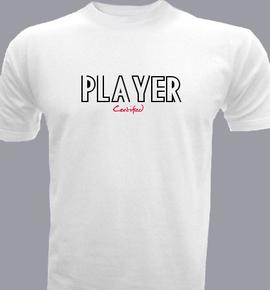 Cert-and-Player - T-Shirt